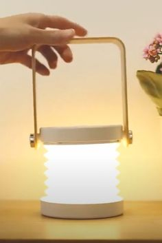 This fantastic, highly portable, collapsible lamp is perfect for a whole range of activities - from camping and  hiking to reading a book in bed!    Get your Portable Lamp now at RomeaDecor.com and enjoy 50% OFF   FREE Shipping. Collapsible Desk, Portable Desk, Bedside Table Lamps, Desk Lamp, Camping And Hiking, Lanterns, Range, Activities, Free Shipping