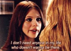 """She had her priorities straight. 