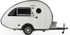 Tab Camper 2022 - nuCamp RV Small Camper Trailers, Teardrop Camper Trailer, Small Trailer, Small Campers, Airstream Basecamp, Airstream Bambi, Tab Trailer, Off Road Camping, Small Rv