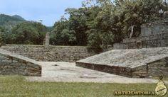 Juego de pelota. Cultura Maya (Copán, Honduras)