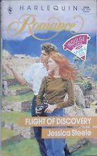 Vintage Harlequin Romance, 3156, Flight Of Discovery, Jessica Steele