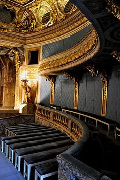 Versailles to Victoria Chateau Hotel, Chateau Versailles, Palace Of Versailles, Historical Architecture, Architecture Details, Interior Architecture, Vaux Le Vicomte, Marquise, Concert Hall