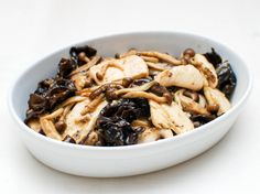 Stir-Fried Water Velveted Chicken With Mushrooms and Oyster Sauce | Serious Eats : Recipes