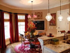 Eclectic | Living Rooms | Steven Miller : Designer Portfolio : HGTV - Home & Garden Television