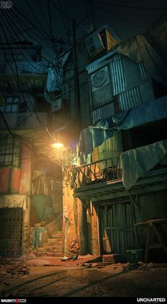 ArtStation - Uncharted The Lost Legacy : Occupied City , Rogelio Olguin