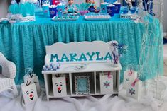 Frozen (Disney) Birthday Party Ideas | Photo 6 of 21