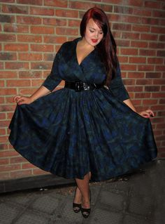 Plus Size Pin Up Dresses | adorable