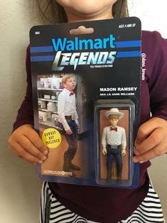 "Remember Mason Ramsey, the 11-year-old yodeler who was discovered in an Illinois Walmart? Well, now thanks to artist Dano Brown, the ""Walmart yodeling kid"" has become an action figure. You won't find this ""Walmart Legend"" being sold at the chain though, because it's not mass produced. It's a one-of-a-kind piece of art. There is just…"