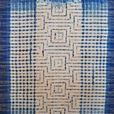 indigo coffee shibori art by slow stitch studio