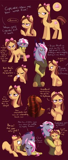 Cupcake Character Study by Lopoddity on deviantART