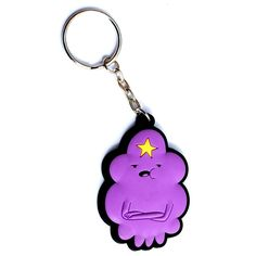 Amazon.com: Adventure Time Lumpy Space Princess Rubber Keychain: Toys & Games