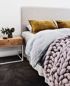 Braided throw-over