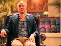 The above photo is of Amazon CEO Jeff Bezos. Bezos and his company decided to join the private label market in the fashion industry. This trend is a competition to other fashion retailers online and in store. -Keena Hudson 10/24 4of4