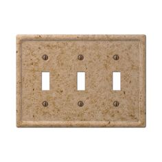 Amerelle Wall Plates Awesome Amerelle Steps 84Tn 1 Toggle Wall Switch Plate  Satin Nickel Review