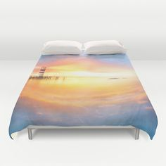 skyland 03 Duvet Cover by photoplace Mattress, Duvet Covers, Bed, Furniture, Home Decor, Stream Bed, Mattresses, Interior Design, Home Interior Design