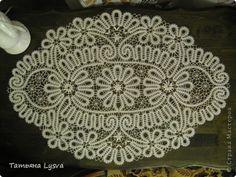 Интерьер Плетение на коклюшках Кружевное чудо Нитки