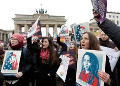 The Latest: New estimate pegs Women's March at half million: https://apnews.com/171bf67526014cc9b46baf81a355015e    Shared via AP Mobile. Download the app now:  iOS - http://itunes.apple.com/us/app/ap-mobile/id284901416?mt=8  Android - https://play.google.com/store/apps/details?id=mnn.Android&referrer=utm_source=share_item&utm_medium=pinterest