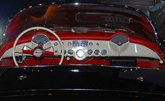 Interior, 1955 Corvette