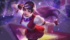 This HD wallpaper is about Mobile Legends, Guinevere, Athena Asamiya, Original wallpaper dimensions is file size is Mobile Legend Wallpaper, Hero Wallpaper, Carmilla, Bang Bang, Snk King Of Fighters, Freedom Fighters, Alucard Mobile Legends, Moba Legends, The Legend Of Heroes