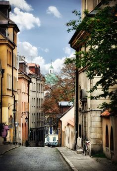 Beautiful town* Warsaw Poland