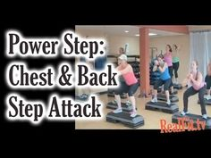 Power Step: Chest & Back Step Attack - YouTube