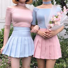 Swans Style is the top online fashion store for women. Shop sexy club dresses, jeans, shoes, bodysuits, skirts and more. K Fashion, Pastel Fashion, Kawaii Fashion, Cute Fashion, Korean Fashion, Fashion Outfits, Fashion Belts, Classic Fashion, Japan Fashion