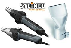 Free nozzle with Steinel hot air welding guns