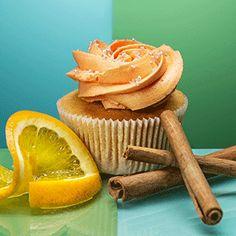 Orange Cinnamon Cupcakes - YUMM Cupcakes Basel Cinnamon Cupcakes, Yummy Cupcakes, Basel, Women's Fashion, Orange, Desserts, Food, Cinnamon Muffins, Essen