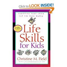 Not only helps the parent equip their children to be productive, but also instilling a healthy sense of self-worth.  Great book.