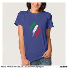 Italian Women's Basic T-Shirt