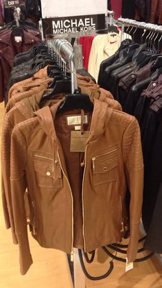 Micheal Kors leather jacket thegoodbags.com     Website For Discount michael kors bags. lowest price