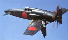 STRANGE日本実験PUSHER PROPELLER FIGHTER  - リアWINGS ON TINY LANDINGホイール注記