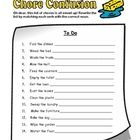 Your students will love this fun printable so much they won't even realize they are practicing working with nouns and verbs! Great for bell work, centers and fast finishers.  FREE