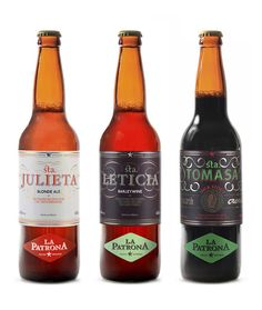 La Patrona Beers on Packaging of the World - Creative Package Design Gallery