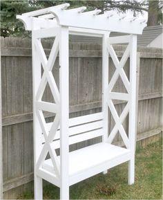 x arbor bench