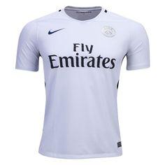 fc77e0b175074 Paris Saint-Germain 16 17 Third Soccer Jersey (White)