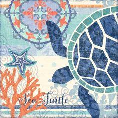North Shore Turtle by Jennifer Brinley   Ruth Levison Design