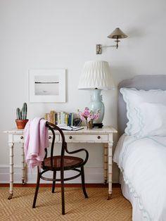 Home Interior Colors McGrath II Interiors.Home Interior Colors McGrath II Interiors Small Bedroom Furniture, Bedroom Desk, Bedroom Office, Space Furniture, Girls Bedroom, Wood Furniture, Office Desk, Ideas Para Organizar, Apartment Living