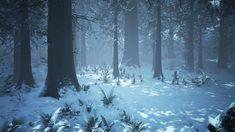 ArtStation - UE4 Winter Forest, Willi Hammes