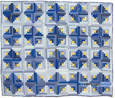 Free Pattern Curvy Log Cabin Quilt By Sharla Quilt