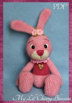 My Lil' Easter Bunny Amigurumi Pattern by Mylilcherryblossom