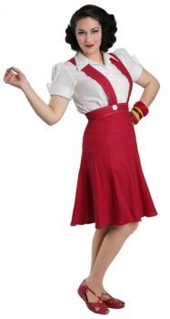 Skirt with Suspenders