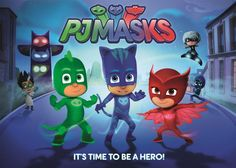Thats It Mommy | Disney Jr Launches New Junior Superhero Show PJ Masks - Thats It Mommy