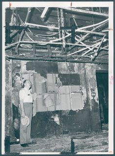 A Preakness-eve fire on May 18, 1974, caused considerable damage to the Chesapeake's second-floor dining areas but left the first floor -- including the kitchen, bar and Chesapeake Room -- virtually unscathed.