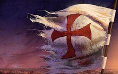 Knights Templar: #Knights #Templar flag.