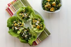 Summer Corn and Herb Salad via JennySheaRawn.com