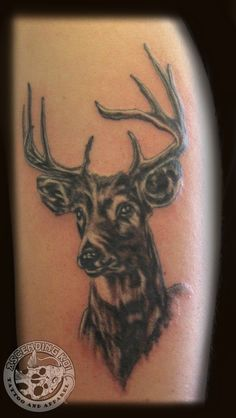 Deer bust piece by Chris #tattoos #ascendingkoi #animals