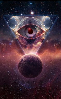 Eye of the cosmos.... pure consciousness