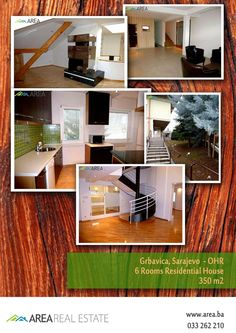 Grbavica OHR Sarajevo - For Rent - Residential House - 350 m2 - Iznajmljivanje