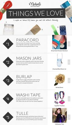 5 super on-trend DIY basics & project ideas for each